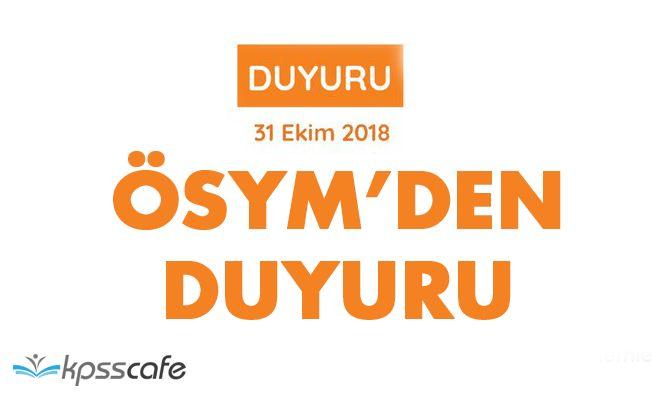 ÖSYM'den KPSS Önlisans Adaylarına Duyuru:Sınav Günü Nüfus Müdürlükleri Açık Olacak