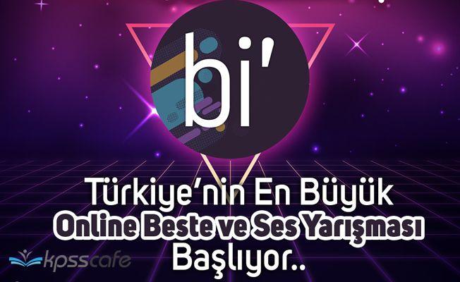 Türkiye'nin En Büyük İnternet Ses Yarışması Başlıyor!