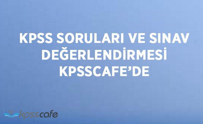 KPSS Önlisans Soruları ve Sınav Değerlendirmesi