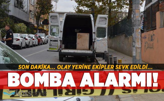 İstanbul'da Bomba Alarmı! Ekipler Sevk Edildi!