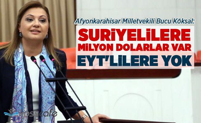 """""""Suriyelilere milyon dolarlar var EYT'lilere yok"""""""