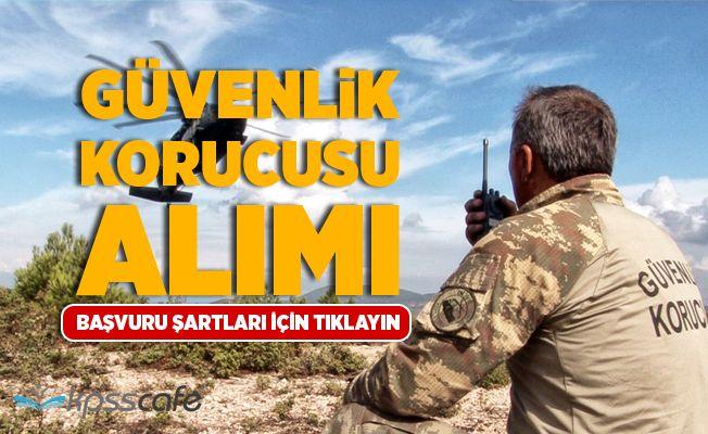 Viranşehir Güvenlik Korucusu Alım İlanı Yayımlandı