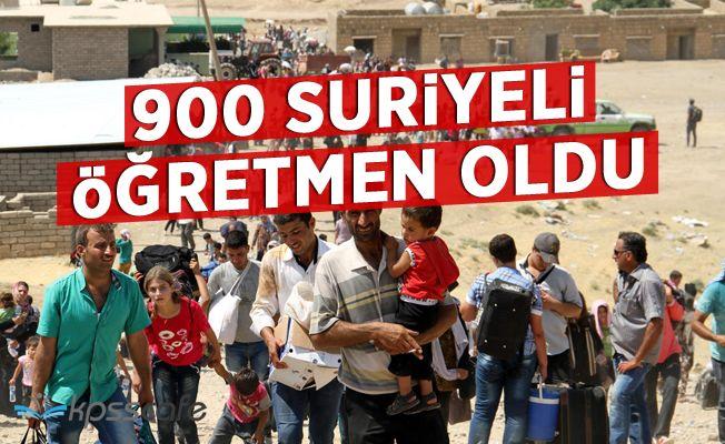 900 Suriyeli, Türk öğrencilere öğretmenlik yapacak