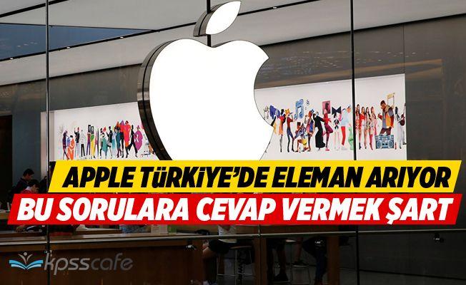 Apple Türkiye'de çalışanlar arıyor