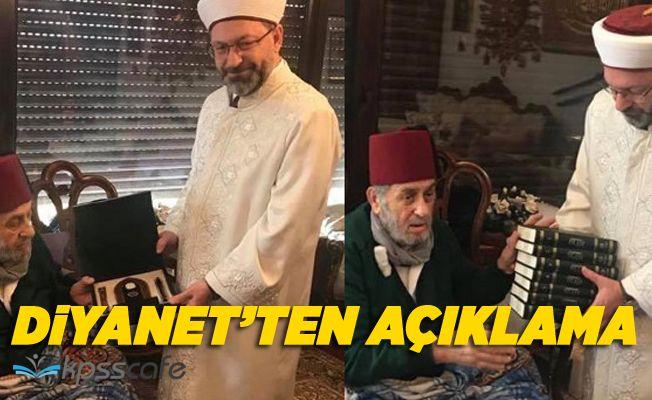 Diyanet'ten Kadir Mısıroğlu ziyareti açıklaması