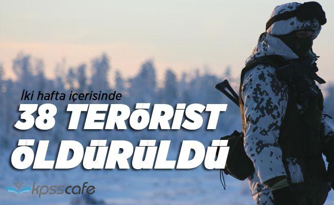 38 Terörist Öldürüldü!