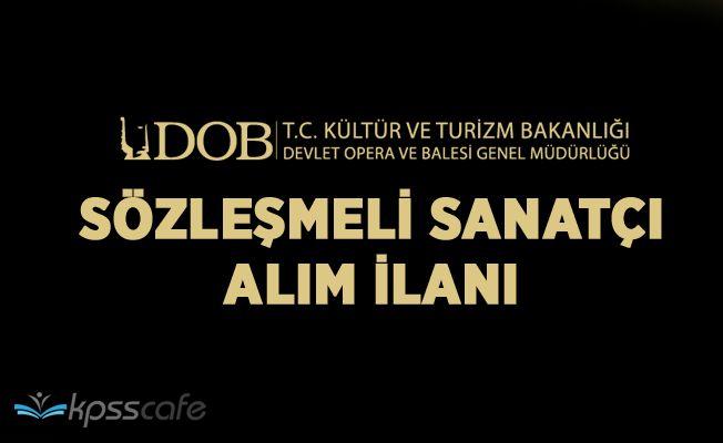 Antalya Devlet Opera ve Balesi Müdürlüğü 1 Sözleşmeli Personel Alacak