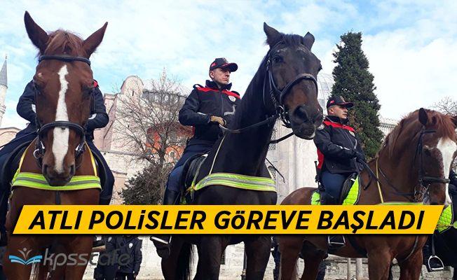 Atlı Polisler Göreve Başladı