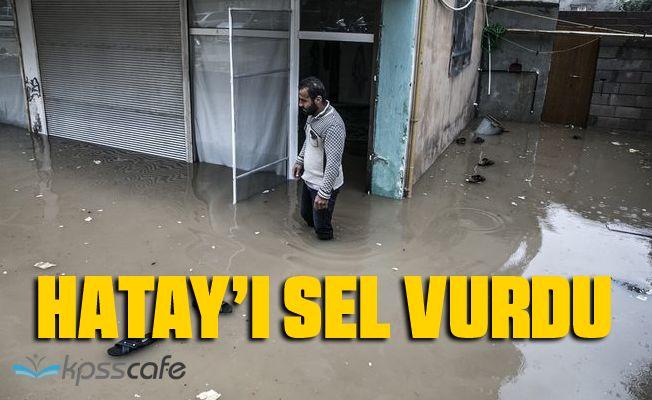 Hatay'da Sel Felaketi: 200'den Fazla Ev Su Altında Kaldı!