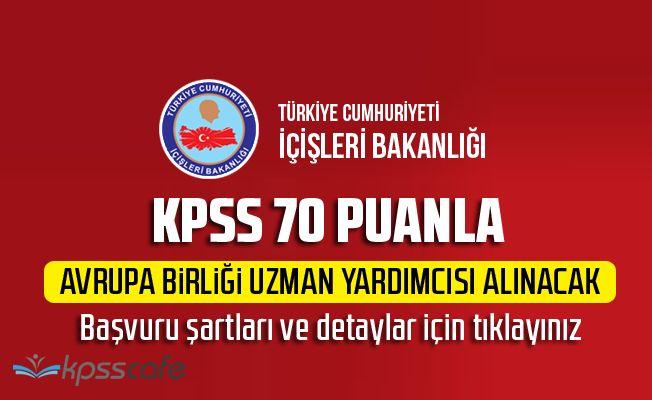 İçişleri Bakanlığı KPSS 70 Puanla Kamu Personeli Alacak