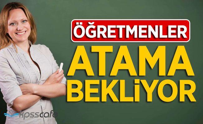 Öğretmenler Atama Bekliyor!