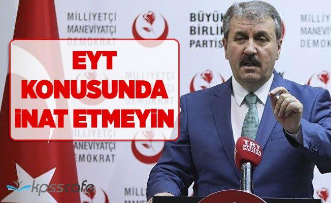 AKP'ye EYT uyarısı