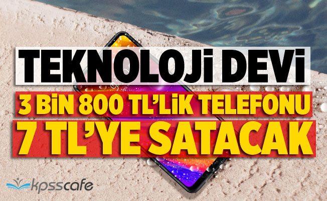 Teknoloji Devi 3 Bin 800 TL'lik Telefonu 7 TL'ye Satacak!