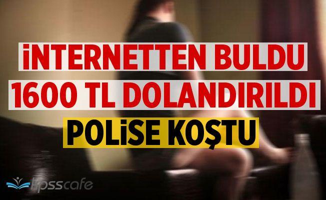 İnternette 1600 Lira Dolandırıldı Polise Koştu!