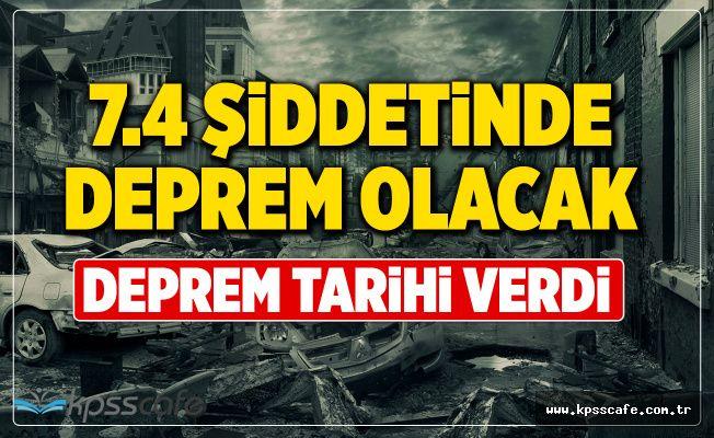 7.4 Şiddetindeki Marmara Depremi İçin Tarih Verdi