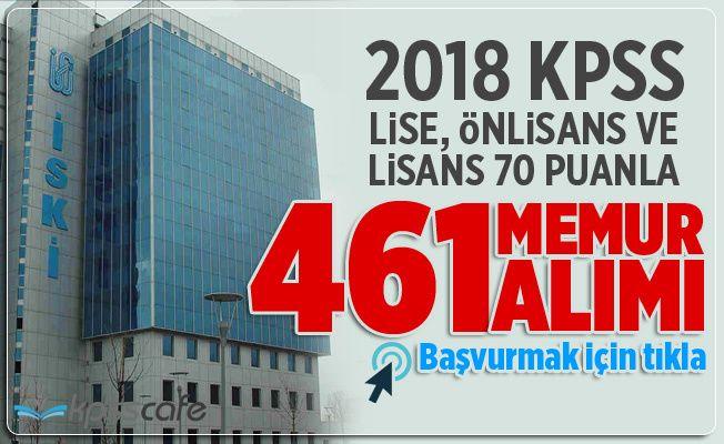 2018 Lise, Önlisans ve Lisans 70 Puanla Yüzlerce Memur Alınacak!