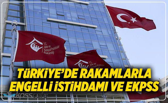 Rakamlarla Türkiye'de Engelli İstihdamı ve EKPSS