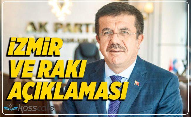 Nihat Zeybekçi'den İzmir ve Rakı Açıklaması!