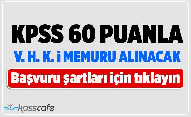 KPSS 60 Puanla Veri Hazırlama ve Kontrol İşletmeni Alınacak!