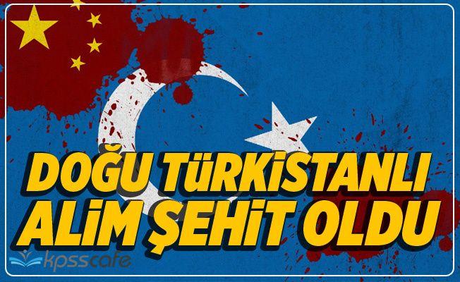 Doğu Türkistanlı alim Abdülkerim Abdulveli Çin Zindanlarında Şehit Oldu!