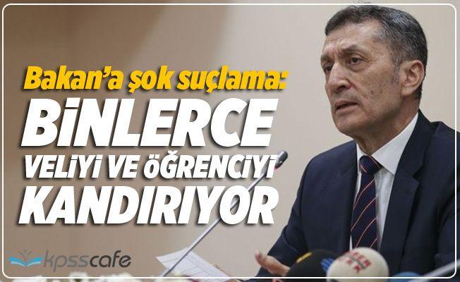 """""""Milli Eğitim Bakanı Kandırıyor!"""""""