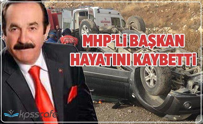 MHP'li Belediye Başkanı Hayatını Kaybetti