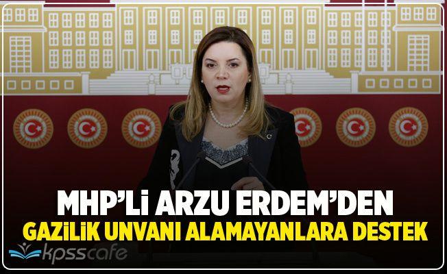 MHP'den Gazilik Alamayanlar İçin Kanun Teklifi