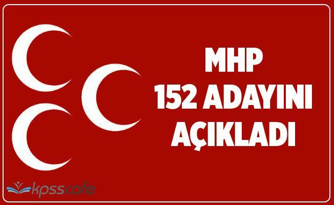MHP, 152 başkan adayını açıkladı