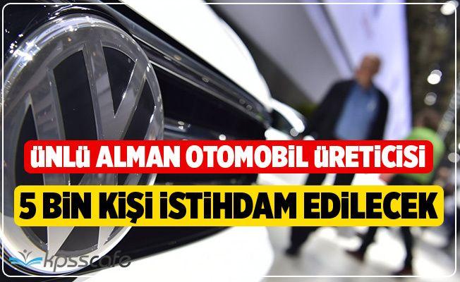 Volkswagen 5 Bin Kişi Alacak