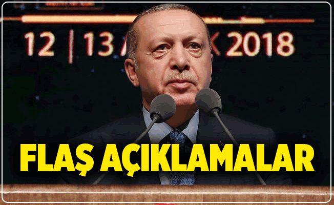 Erdoğan'dan Flaş Açıklamalar: Fırat'ın Doğusu'nda Harekata Başlıyoruz
