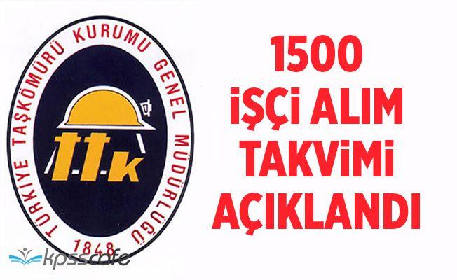 TTK Genel Müdürü 1500 işçi alım takvimini açıkladı