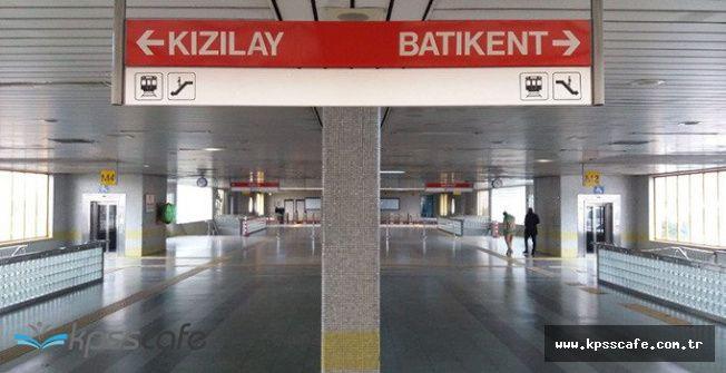 Ankara Metrosunda İntihar !