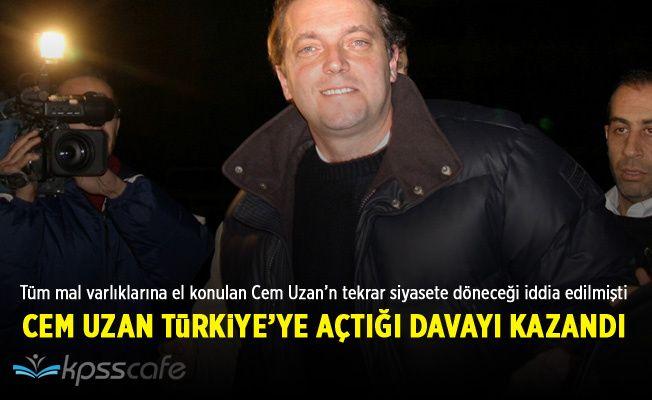 Cem Uzan Türkiye'nin açtığı 2 milyar dolarlık davayı kazandı