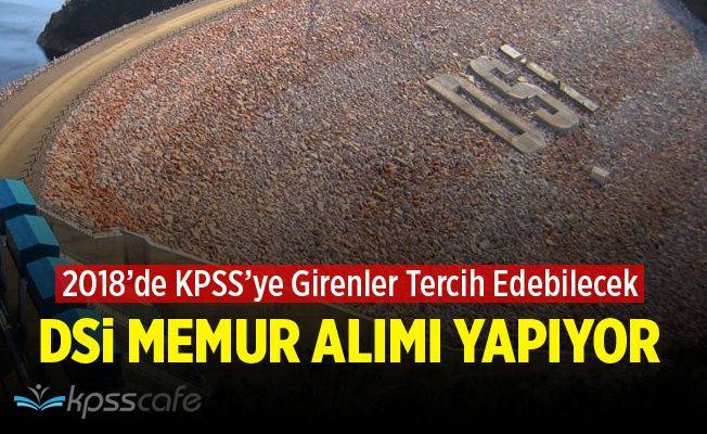 Devlet Su İşleri Genel Müdürlüğü (DSİ) 45 Memur Alımı Yapıyor!