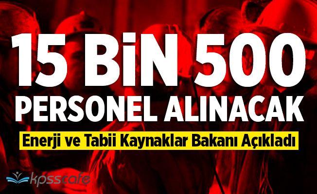 Türkiye Kömür İşletmeleri'ne (TKİ) 15 Bin 500 Personel Alımı Yapacak!