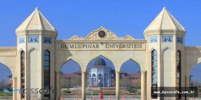 Dumlupınar Üniversitesi Personel Alımı Yapacak