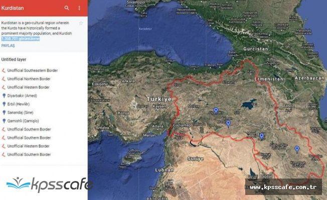 Google ile harita görüşmesi