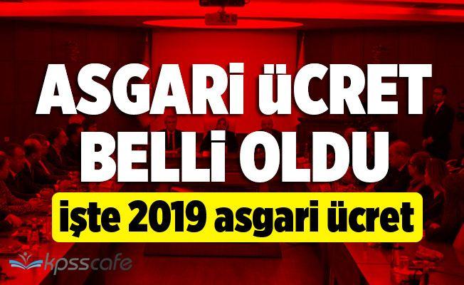 2019 Asgari Ücret Belli Oldu! 2019 Asgari Ücret Ne Kadar Oldu! 2019 Asgari Ücret Brüt! 2019 Asgari Ücret Net!