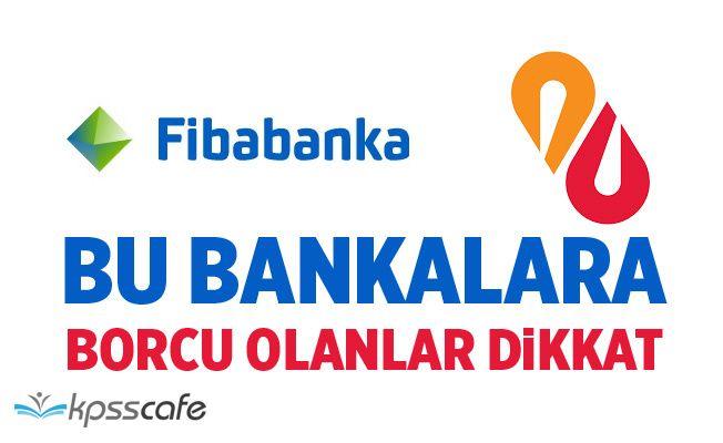 Bu Bankalara Borcu Olanlar Dikkat! Albaraka Türk ve Fibabanka alacaklarını sattı