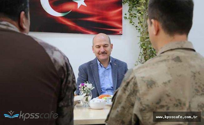 İçişleri Bakanı Süleyman Soylu JÖH ve PÖH'lerle Buluştu
