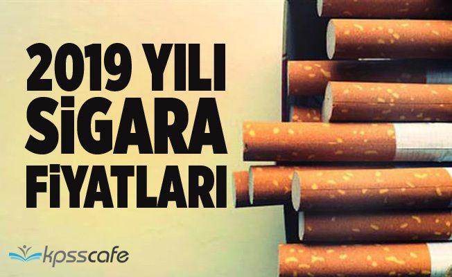Sigara'ya Zam Geldi! İşte 2019 Sigara Fiyatları!