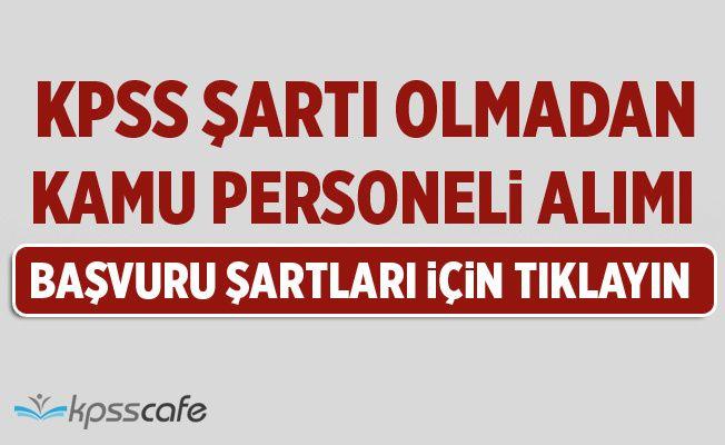 Mersin Büyükşehir Belediyesi KPSS'siz Kamu Personeli Alıyor