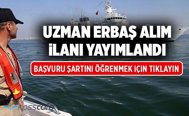 Sahil Güvenlik Komutanlığı Uzman Erbaş Alım İlanı Yayımlandı