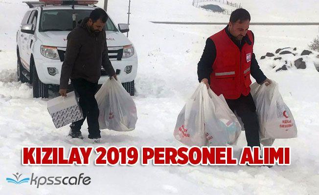 2019 Kızılay Personel Alım İlanı Yayımlandı!