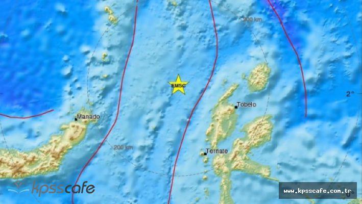 Endonezya'da 6,6 Şiddetin Deprem!