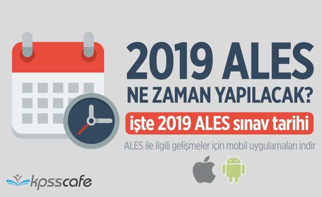 2019 ALES ne zaman yapılacak? İşte 2019 ALES sınav tarihi