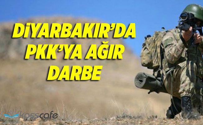 PKK'ya Diyarbakır'da Ağır Darbe!