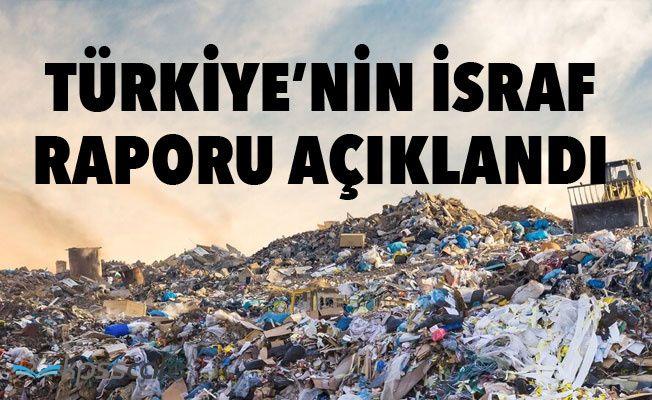 2018 Türkiye İsraf Raporu Açıklandı!