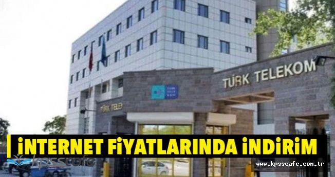 Türk Telekom İnternet Fiyatlarında İndirim Yaptı!