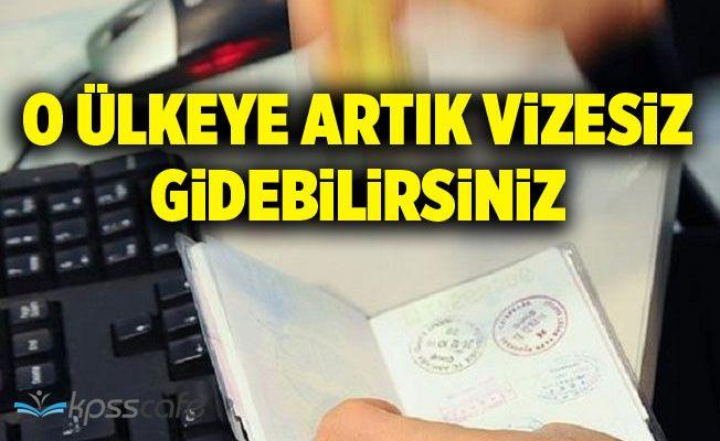 O Ülkeyle Türkiye Arasında Vizeler Kaldırıldı! Resmi Gazete'de Yayımlandı.